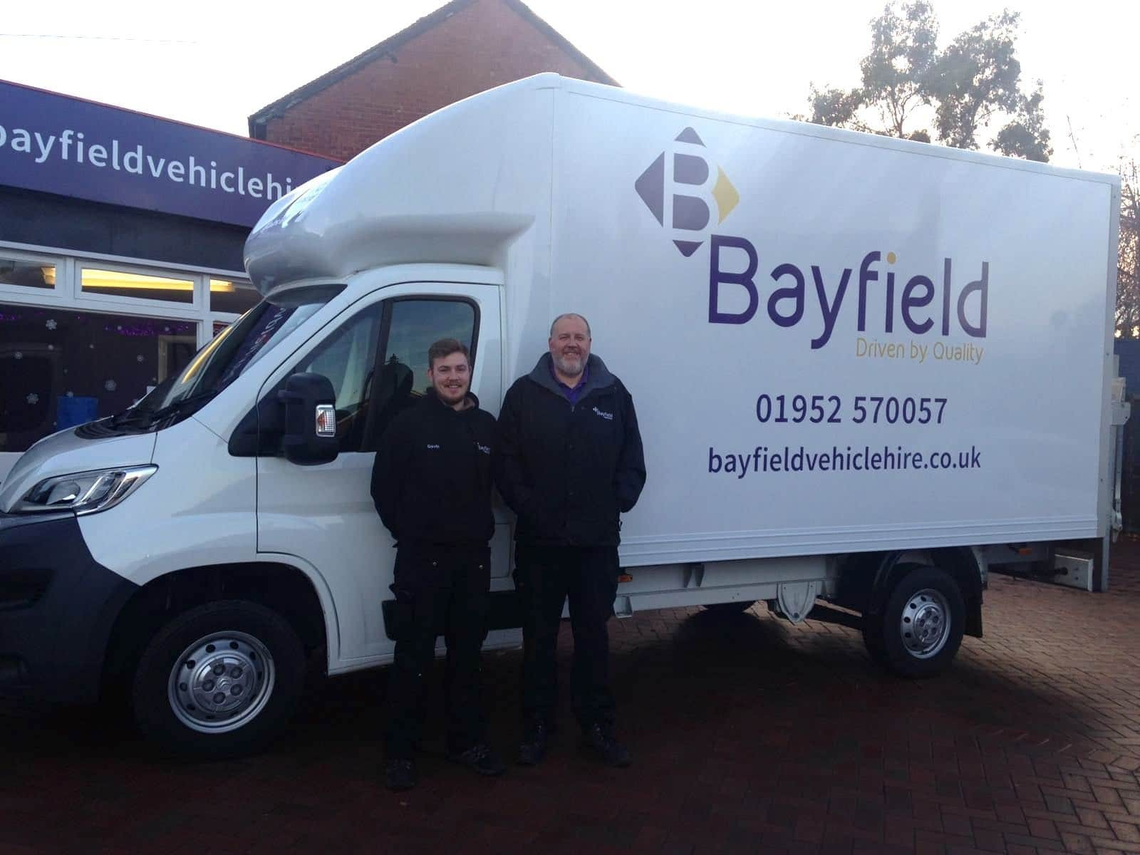 Why use Bayfield Vehicle Hire for your van hire in Telford?