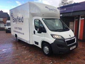 Moving into University with Bayfield's van hire services