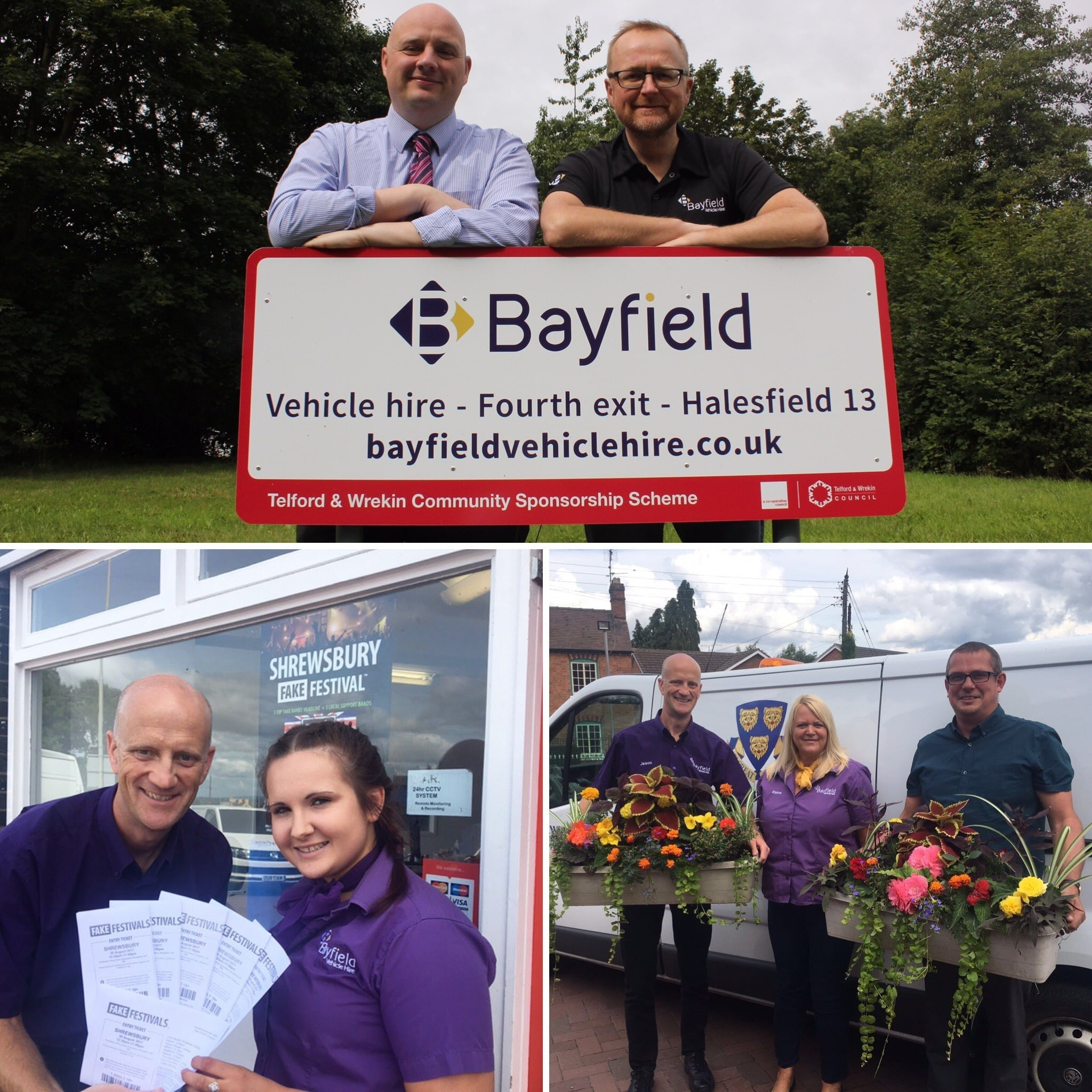 Bayfield Vehicle Hire in the Shropshire community