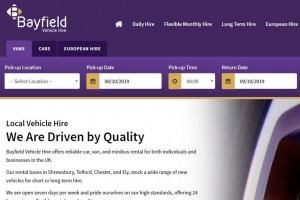 Say Hello to Bayfield Vehicle Hire's New Booking System!