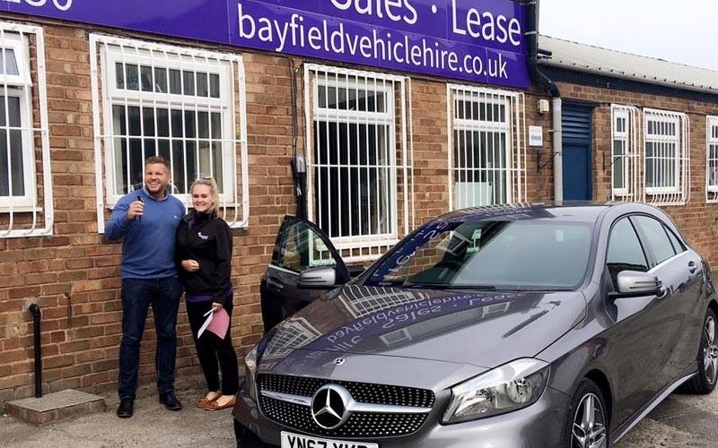Bayfield Vehicle Hire Sales Team