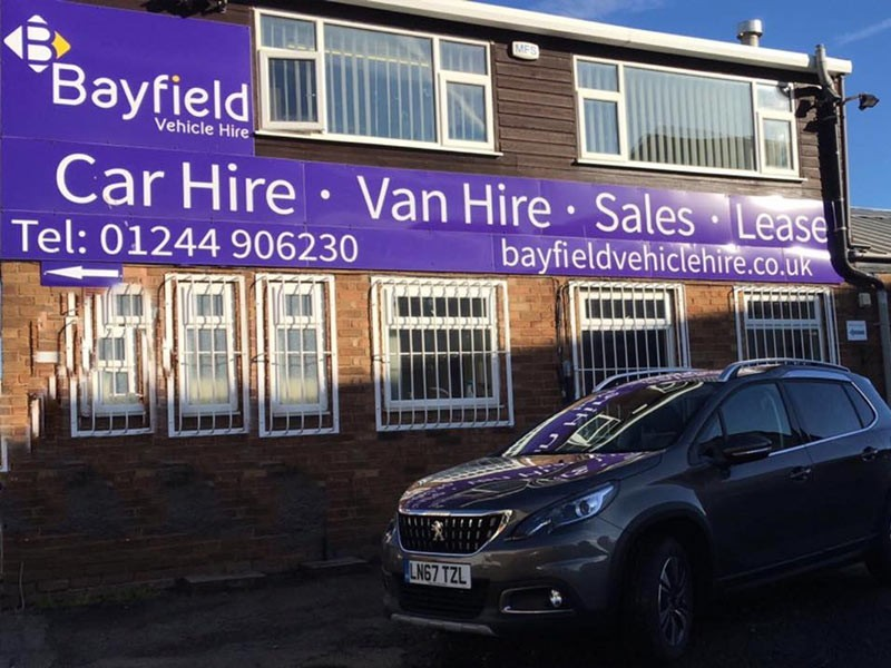 Bayfield Vehicle Hire Chester Team