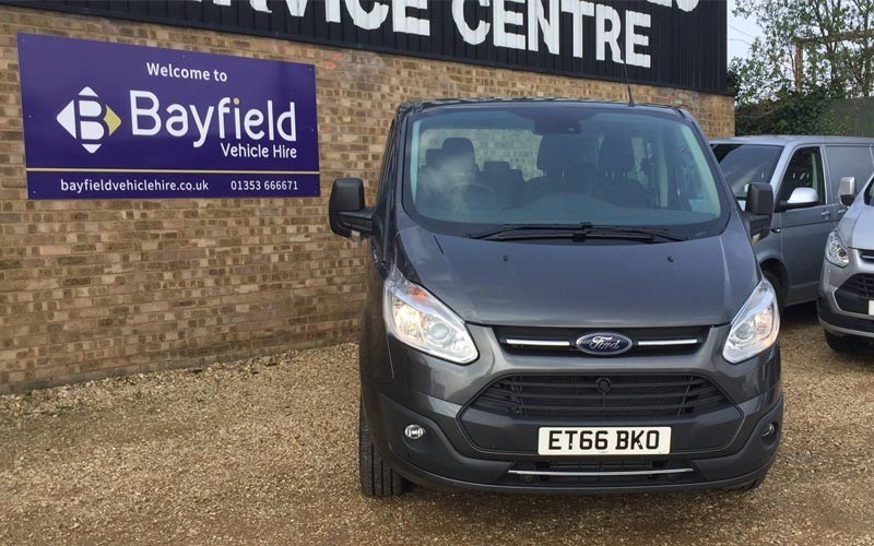 Bayfield Vehicle Hire Van