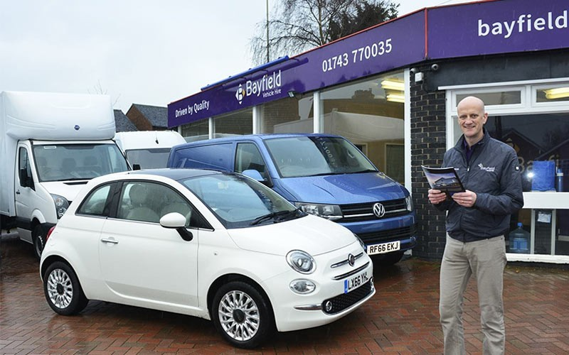 Bayfield Vehicle Hire Shrewsbury