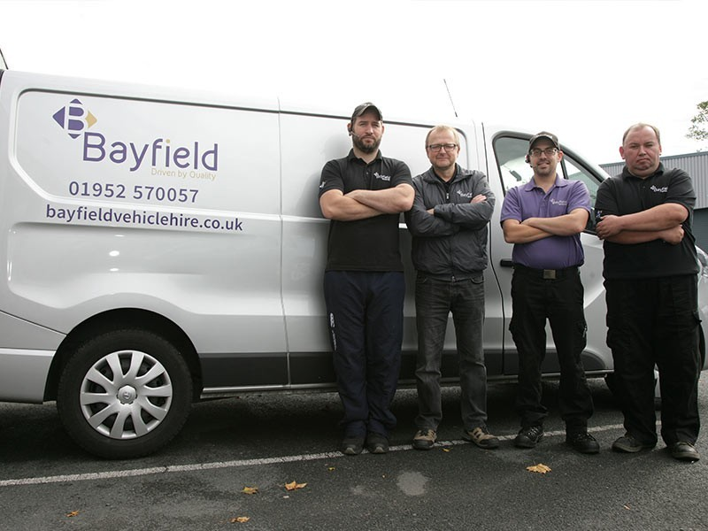 Bayfield Vehicle Hire Telford Team